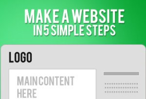 make website 5 simple steps