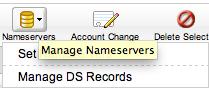 Click Name Servers