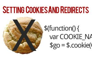 cookies redirects