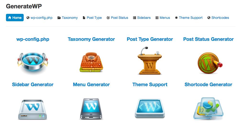 generate wordpress