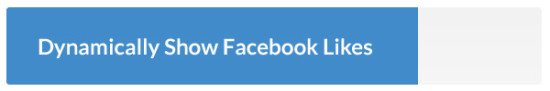 dynamically show facebook likes