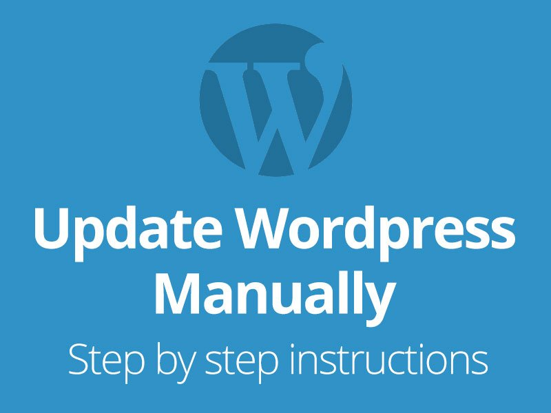 update wordpress manually